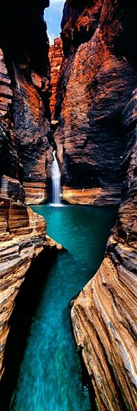"""Emerald Waters"" ~ Karijini National Park, Western Australia • photo: Ken Duncan • more on Karijini National Park"
