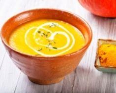 Soupe de potiron au lait de coco (facile, rapide) - Une recette CuisineAZ
