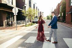 downtown engagement #engagementphoto  #engaged #engagementphotography #nashvilleengagement #whattowear