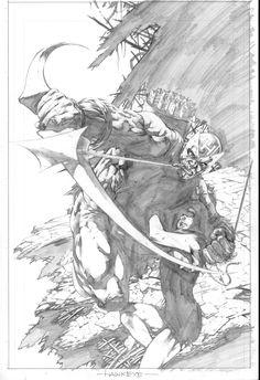 Hawkeye by Philip Tan