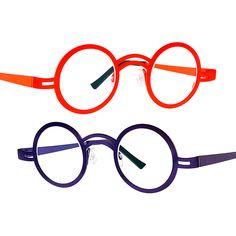Favourite - Theo Wonton - maybe in burgundy, chestnut or purple? Theo Eyewear, Burgundy, Frames, Glasses, Purple, Specs, Gold, Fashion, Eyewear