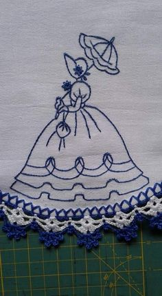 Hand Embroidery Videos, Crochet Wool, String Art, Smocking, Embroidery Designs, Duvet, Patches, Dolls, Sewing