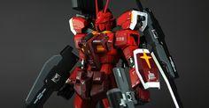 MODELER: Kouichi  MODEL TITLE:  N/A  MODIFICATION TYPE: custom paint job, custom details, custom decals  KITS USED: MG 1/100 Gundam Amazing...
