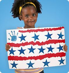 Stars & Stripes Place Mat at Lakeshore Learning: This red, white and blue place mat adds a fun, patriotic twist to mealtime!