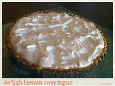 Love love lemon meringue #AlidaRyder