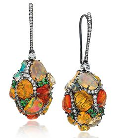Cellini Jewelers #fk #fashionkiosk #jewellery #earrings #style #colors #ювелирные #украшения #серьги