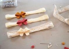 Jenna Lou Designs: DIY - Baby Bow Headbands by ida