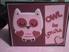 A valentine's card I did for my daughter.