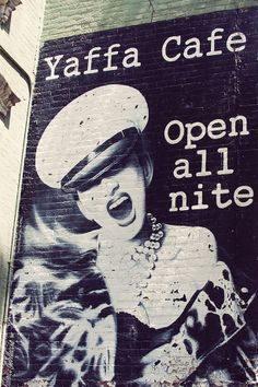 New York - Yaffa Cafe All Nite