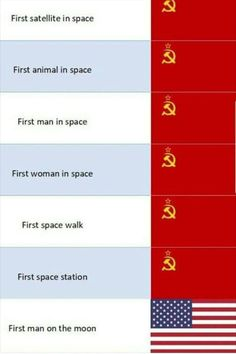 Picture memes 7 comments — iFunny First satellite in space First animal in space First man in space First woman in space First space walk First space station First man on the moon Winner of the space race – popular memes on the site Hetalia, Stupid Funny, Funny Jokes, Hilarious, Memes Historia, Russian Memes, All Meme, Space Race, Baguio