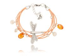 #bydziubeka #jewelry #dragonfly #bracelet