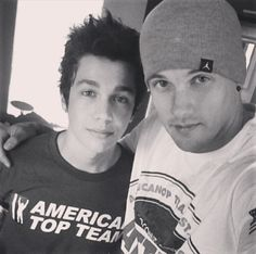 Austin Mahone  Dave Brytus what happened to Dave I miss austin and Dave's friendshipbroship or whatever you would call it