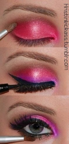 Quotes About Life | Beauty Tips | Pink Chocolate Break: Pink Spring Make Up Looks
