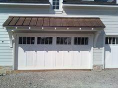 Door and overhang | Carriage House | Pinterest | Garages, Garage ...