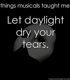 Things Musicals Taught Me // The Phantom of the Opera