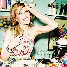 FASHNBERRY: Kylie Minogue by Ellen von Unwerth for Glamour Italia June 2014 http://www.fashion.net/today/