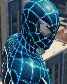 Spider-man Fear Itself Suit Spiderman Kunst, Black Spiderman, Spiderman Spider, Amazing Spiderman, Spiderman Marvel, Marvel Comic Universe, Marvel Art, Marvel Dc Comics, Marvel Heroes
