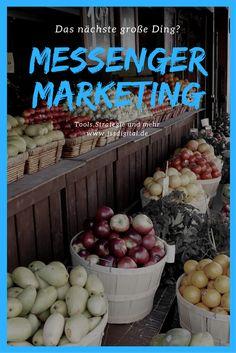 Es geht gerade erst so langsam los mit Messenger Marketing, aber es könnte das nächste große Ding werden. Wie kommunizierst du mit deinen Kunden?