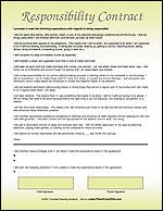 Behavior Contracts For Children And Teens  Printable Parenting