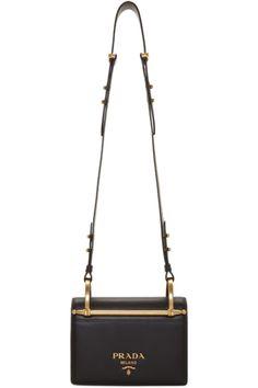 ce611266578 Black Logo Bag Leather Shoulder Bag