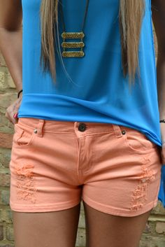 Piace Boutique - Sunrise Shorts in Bottoms