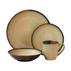 Pfaltzgraff Java 16-Piece Dinnerware Set, Service for 4  $185.99