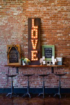 DIY Love sign