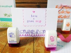Easy to use Rolli Stamps are so easy for kids to use and require no ink pads. Roll them everywhere! #kidcrafts