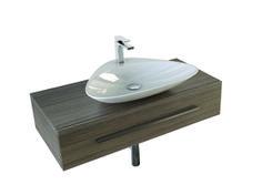 Mall, design Meneghello Paolelli Associati. Mobile bagno per lavabi di appoggio ( Cabinet for countertop washbasins. #bathroom #furniture #design #bagno #sink #washbasin #Artceram