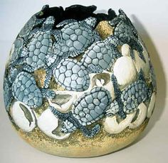 Sea turtles hatching...lovely