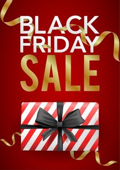 Vector banner black friday template with red striped box with black ribbon. Download it at freepik.com! #Freepik #vector #banner #flyer #poster #sale Black Ribbon, Red Stripes, Black Friday, Banner, Templates, Box, Poster, Banner Stands, Stencils