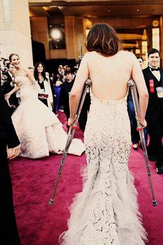 Kristen Stewart at the 85th Annual Academy Awards