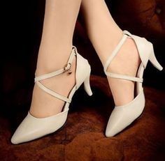 Yi Womens Candy Pointy Toe Fashion Pumps Stilettos Court Strappy Shoes Plus Size