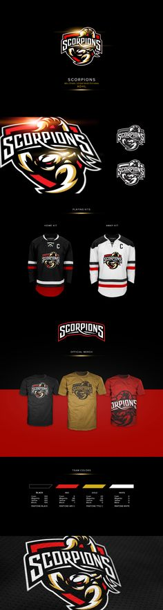 "Logo for ""Abu Dhabi Scorpions"" - hockey team based in Abu Dhabi, UAE"