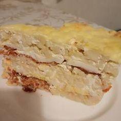 Rakott nokedli | Zimelda receptje - Cookpad receptek Pie, Desserts, Recipes, Food, Torte, Tailgate Desserts, Cake, Deserts, Fruit Cakes