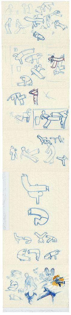 Croquis : Capoeira [ #sketches #capoeira ]