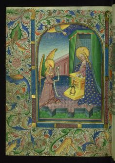 W.270, Book of Hours (Use of Rome), Latin (1440 - 1450 CE, Bruges, Flanders)