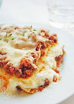 Gluten Free Lasagna w/ Garbanzo Bean Crepes | I Breathe... I'm Hungry...