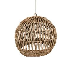 Hanglampen - Loods 5 Sisal, Ceiling Lights, Lighting, Pendant, Home Decor, Homemade Home Decor, Light Fixtures, Ceiling Lamps, Pendants