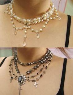 paintedreverie: DIY - Gothic Lolita Accessories