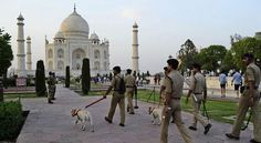 Agra: Police on Friday patrolled the Yamuna river bank here and mounted extra vigil after a website threatened to target the Taj Mahal, the 17th century monument of love. An official said the information was passed on to the police and intelligence agencies on Thursday after which several teams...
