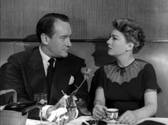 """We have a great deal in common…""  All About Eve    Anne Baxter  George Sanders"