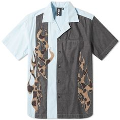 ad68a6a9 LIAM HODGES LIAM HODGES FIREBALL SHIRT. #liamhodges #cloth Vacation Shirts,  Sleeve Designs