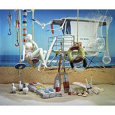 Dekoidee Strandturm Erleben Sie ein Tag am Strand mit unserer Dekoidee. Möwen, Muscheln und Sand lassen Sie und Ihre Kunden bereits vom Urlaub träumen. Eine wunderbare Unterstreichung jeder Strand-Dekoration bietet unser XXL-Textildruck mit einem Strandturm als Motiv. http://www.decowoerner.com/de/Saison-Deko-10715/Sommer-10744/Komplette-Dekoideen-Sommer-11325/Dekoidee-Strandturm-611.978.00.html