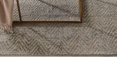 Metallic Zia Rug Collection | Grey/Gold-RH