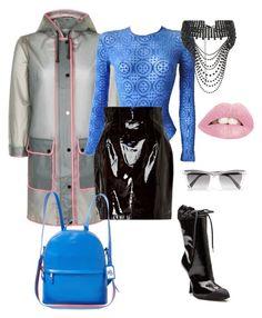 """Untitled #251"" by stylistrr on Polyvore featuring Topshop, Versace, Zeynep Arçay, Lauren Ralph Lauren, Miu Miu and Prism"