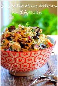 Salade d'orzo à la grecque