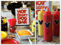 Some Awesome Birthday Party Ideas over the Mickey Mouse Theme - Mickey Mouse second birthday - Aniversario 2 Birthday, Mickey Mouse Clubhouse Party, Mickey Mouse Clubhouse Birthday, Mickey Mouse Parties, Mickey Birthday, Mickey Party, First Birthday Parties, Birthday Ideas, Disney Parties