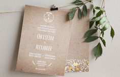 Wedding Stationery from Appleberry Press