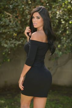 Sultry Dress - Black